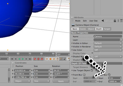 Depth of Field in Cinema 4D Tutorial - Picture 8