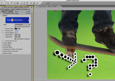 Chroma screen keying tutorial - Picture 7