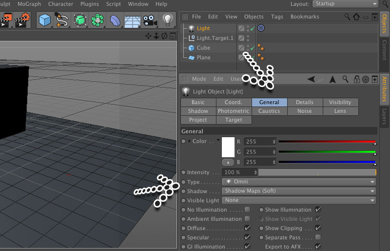 c4d shadow catcher tutorial - Picture 4