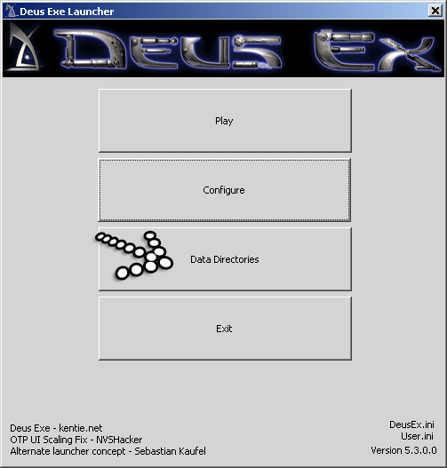 Deus Ex Data Directories