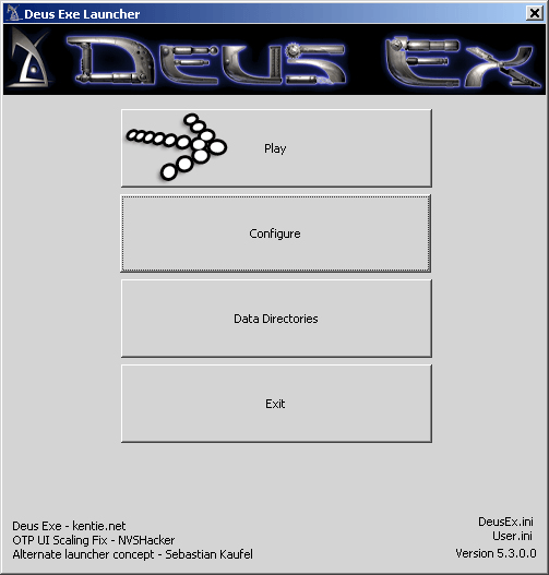 Deus Ex Play Game