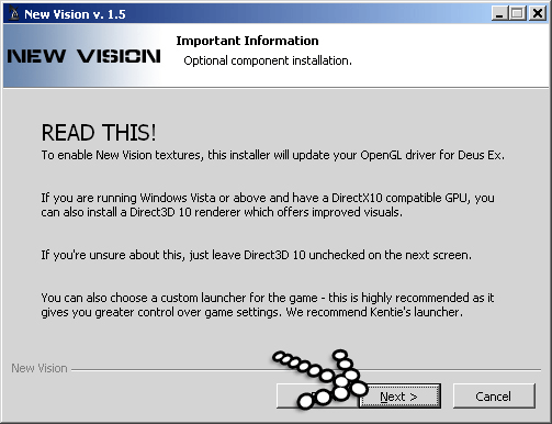 Deus Ex Install New Vision Part 2