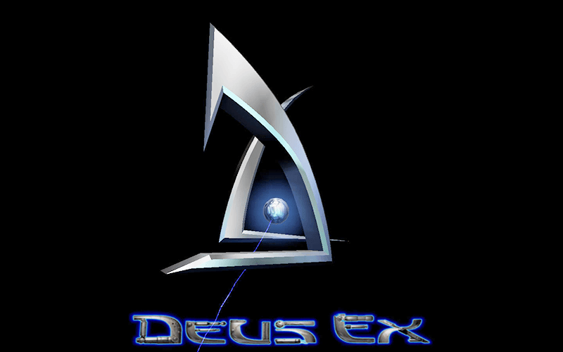 deus ex main menu screenshot