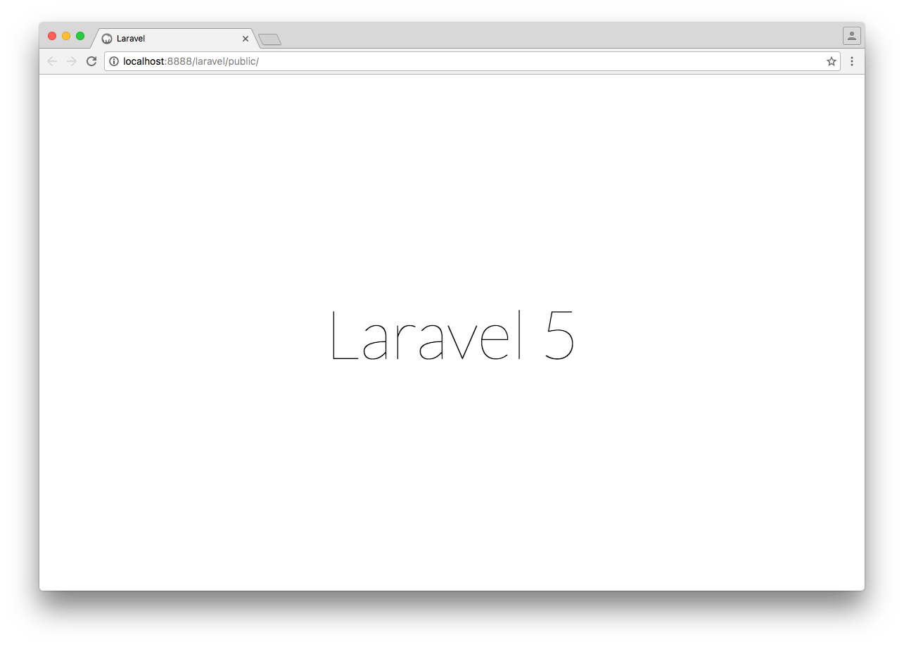 Laravel star screen