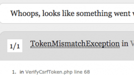 Laravel Token Mismatch Exception Icon