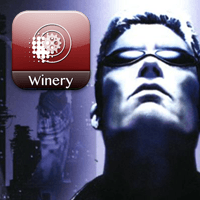 Deus Ex 2000 Wineskin Icon Logo