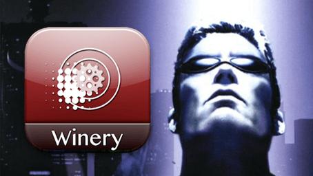 Deus Ex 2000 Wineskin Icon Logo