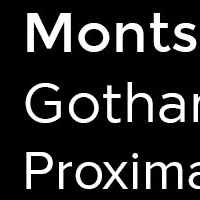 Free Alternative Web Font to Gotham and Proxima Nova