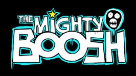 The Might Boosh Icon Logo