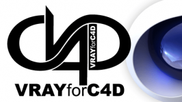 vray for c4d Icon Logo